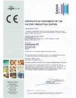Company, Environmental (FSC; PEFC) and Quality (ISO 9001) etc Certification Document Downloads Puidukoda